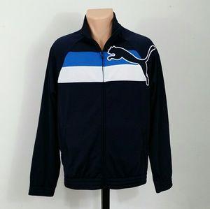 Puma Sport Lifestyle Men's Blue Athletic Jacket